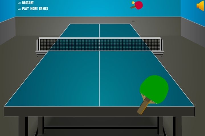 Animation For Online Table Tennis Game